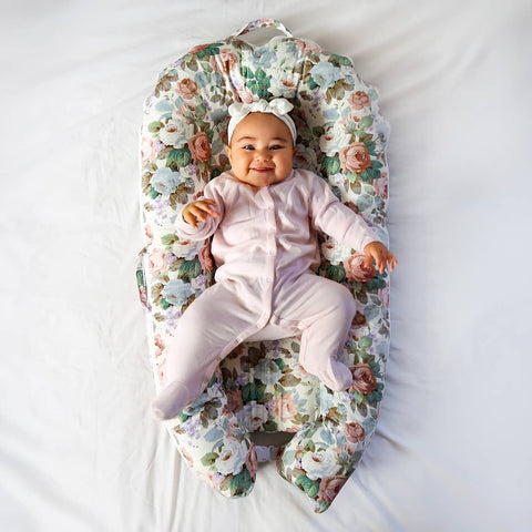 Baby lounger nest bed