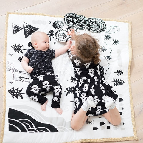 Explore Quilted Baby Playmat