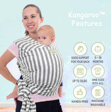 Load image into Gallery viewer, Kangaroo™ Wrap Baby Carrier