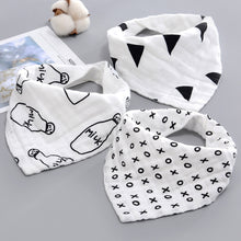 Load image into Gallery viewer, GigiBibs™ Cotton Bandanna Bibs
