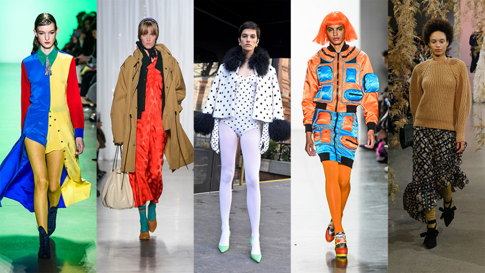 Statement Hosiery Will Be Everywhere This Fall