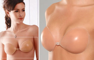 Cleavage Enhancing Adhesive Silicone Bra on Tights Etc South Africa