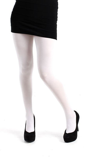 White 80 denier Tights solid colour by Pamela Mann Uk on Tights Etc South Africa