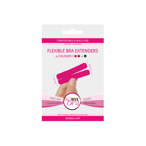 Bye Bra provides the new generation of bra extenders. Bra extenders are extension pieces for any bra that is too tight, giving a better fit to any Bra that is too small