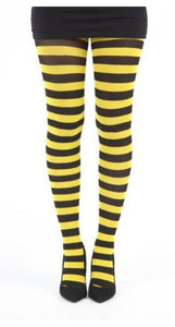 twicker yellow bumble bee tights by pamela mann uk me after you bumble bee tights yellow and black stripes