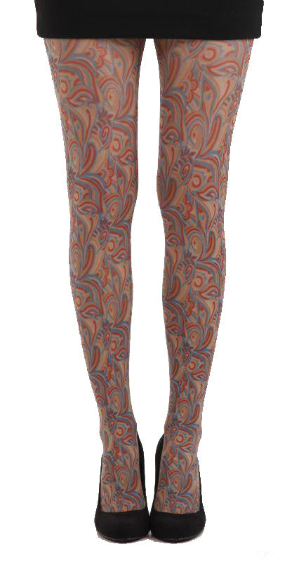 Cashmere Pattern Printed Tights by Pamela Mann UK on Tights Etc South Africa