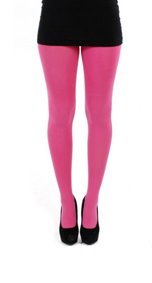 Pink solid colour 80 denier Tights by pamela mann uk on tights etc south africa