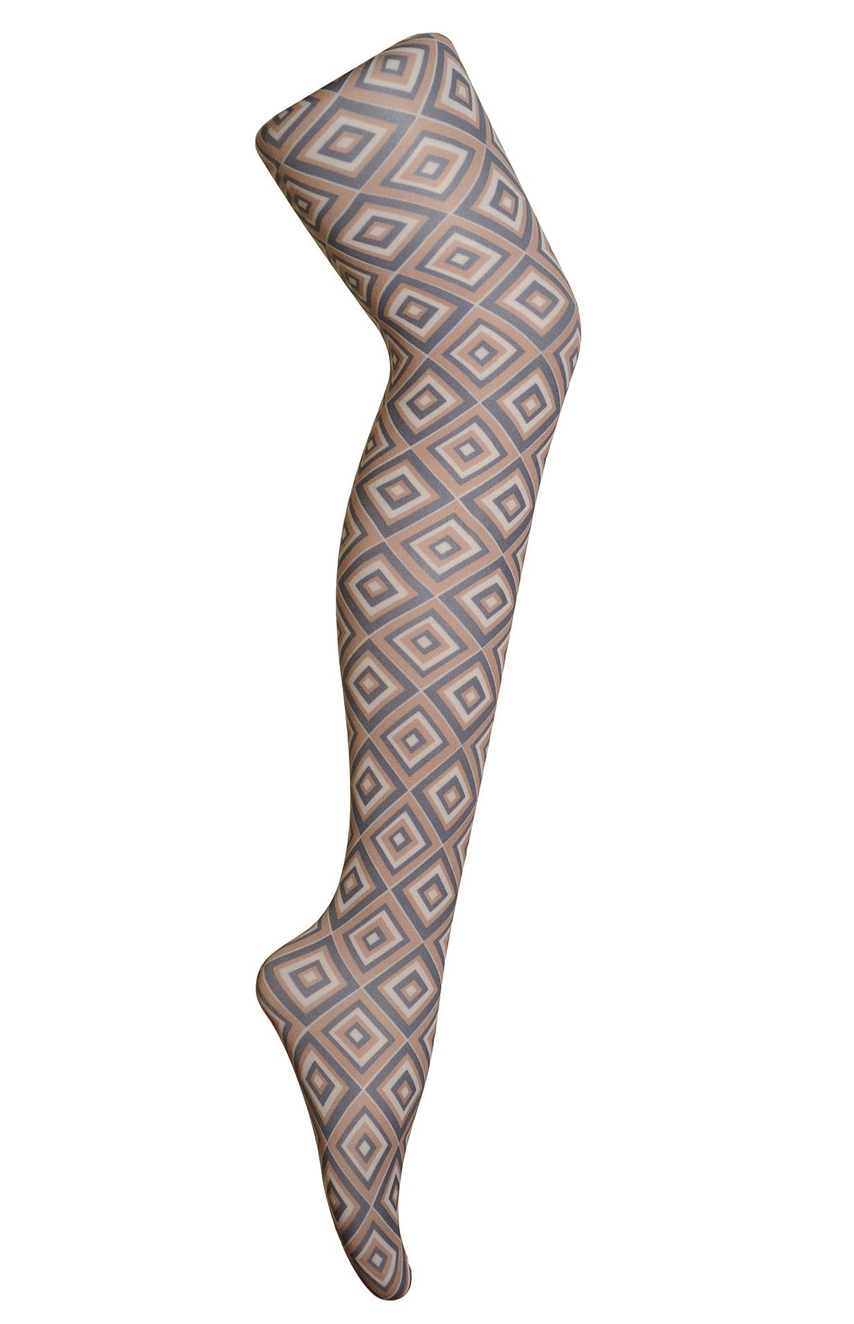 70's Diamond Printed Tights