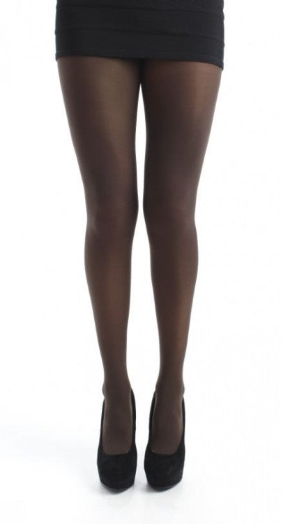 Chocolate 80 Denier Tights solid colour by Pamela Mann UK on Tights Etc South Africa