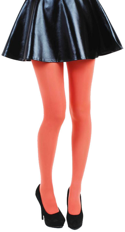 Coral Peach Solid color 80 Denier Tights by Pamela Mann UK only on Tights Etc South Africa