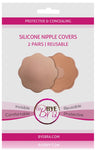 BYE BRA Nude Reusable Silicone Nipple Covers (2 Pairs) by Bye Bra Holland Hollywood secrets Fashion Tape on Tights Etc South Africa