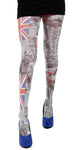 Camden London flag London Subway style Printed tights by Pamela Mann UK on Tights Etc South Africa