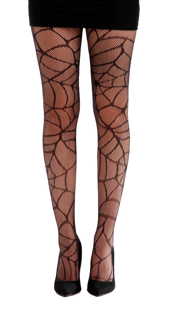 80157d9ae3 New Cobweb Pattern Tights Black and Sheer by Pamela Mann UK on Tights Etc  South Africa
