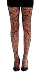 New Cobweb Pattern Tights Black and Sheer by Pamela Mann UK on Tights Etc South Africa