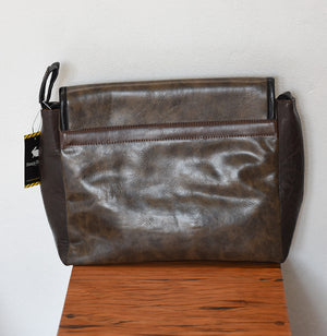 Benga Rabbit Freshman lap top Bag Talkin' Design messenger bag vegan 100% Cruelty free only on Tights Etc South Africa