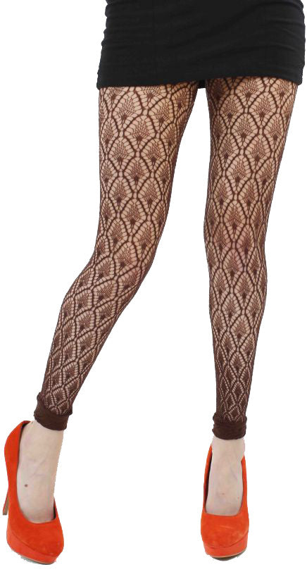 Diamond Crochet Net Pattern Tights by Pamela Mann UK on Tights Etc South Africa