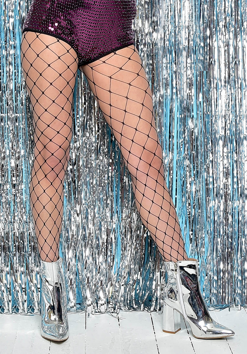 X Large Black Fishnet Tights by Pamela Mann UK shop online on Tights Etc South Africa