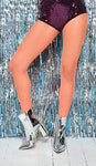Festival Orange Fishnet tights by Pamela Mann UK on Tights Etc online shop South Africa