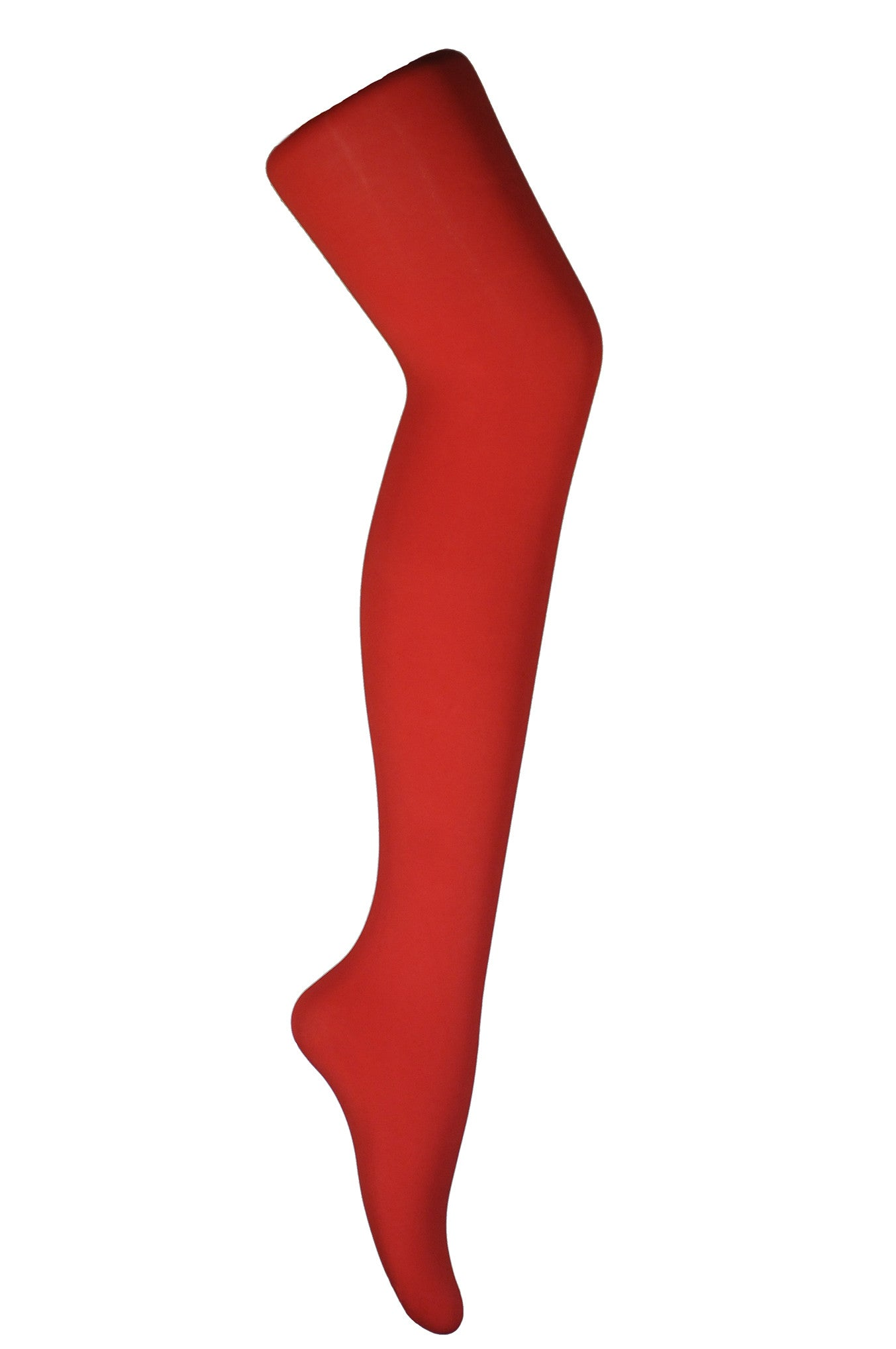 Flo Red 80 Denier Solid Colour Full Coverage Tights by Pamela mann UK on Tights Etc South Africa