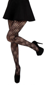 LilyPad Printed Net Tights by pamela mann UK on Tights Etc South Africa