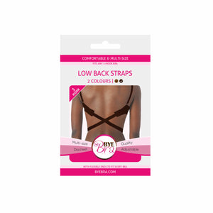 s.Women's Removable Replacement Bra Straps. A low-back strap is a bra strap which pulls the bra down so it can't be seen