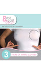 Best Breast Bye Bra Silk Nipple Covers (3 Pairs) 3M medical tape adhesive on Tights Etc South Africa
