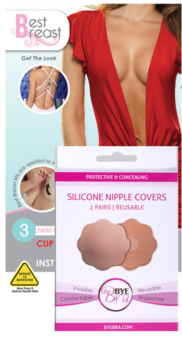 Best Breast Lifts + 2 Pairs of Silicone Nipple Covers