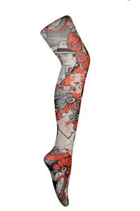 Secret Agent comics printed Tights
