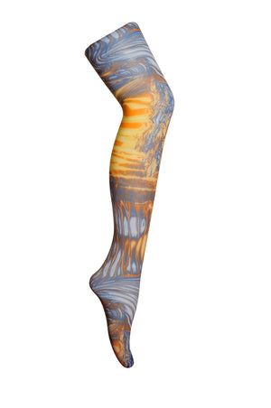 Storm electric printed Tights