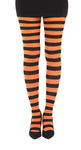 Twicker Orange bumble bee Tights in black and orange stripes by Pamela Mann UK on Tights etc South Africa