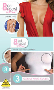 Best Breast Pack of Medical Adhesive 3M Tape size D-F with Silk Nipple Covers on Tights Etc South Africa
