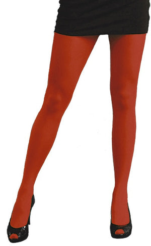 Rust orange 80 denier solid colour Tights by Pamela Mann UK on Tights Etc South Africa
