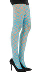 Square Hole Flo Turquise Fishnet Tights Pamela Mann UK tights etc south africa