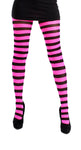 Twicker Pink bumble bee Tights in black and pink stripes by Pamela Mann UK on Tights etc South Africa