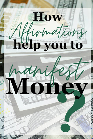 How affirmations can help you to manifest money from let's go mind