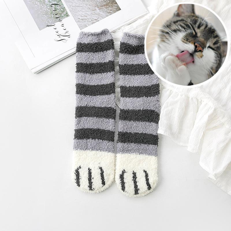 Cute Cat Cotton Socks