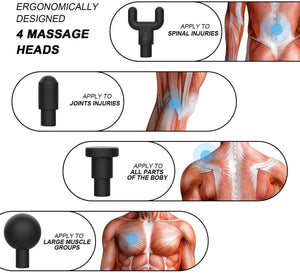Massage Gun Deep Tissue Massager Percussion Massage Gun Relax Body SP
