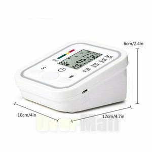Arm Automatic Blood Pressure Monitor Measuring Arterial Pressure