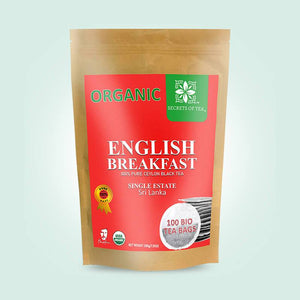 Organic English Breakfast Black Tea - Single Origin High Grade