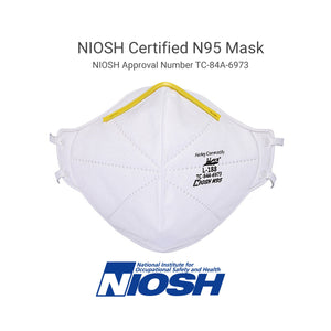 N95 Respirator Mask - NIOSH Certified