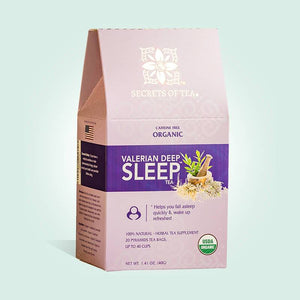 Valerian Tea - 40 Cups - Deep Sleep Nighttime Tea