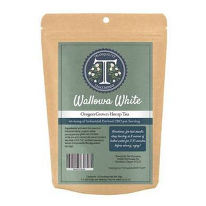 Tranquility Tea Company - CBD Tea - Wallowa White - 600mg-650mg