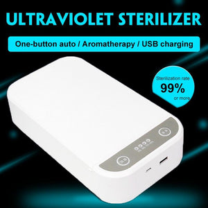 Portable UV Mobile Phone Sanitizer Box