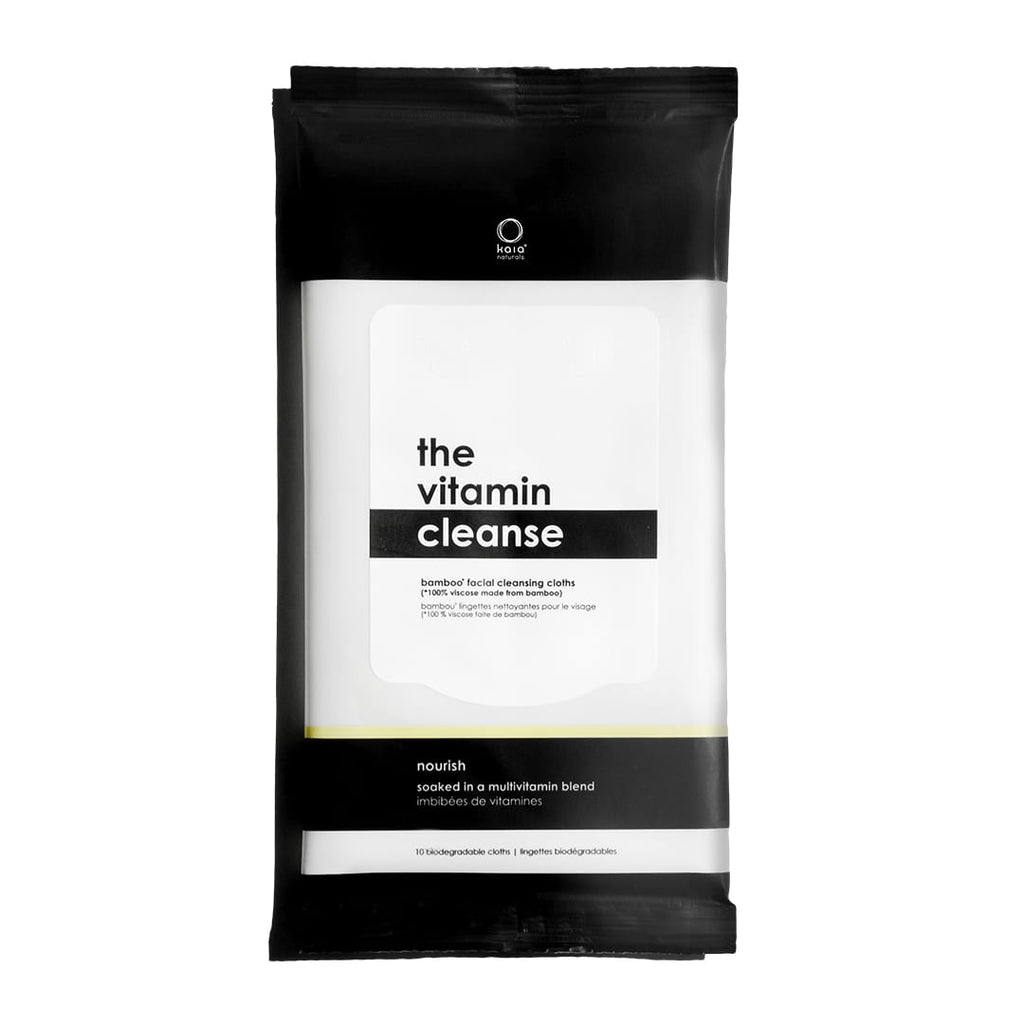 The Vitamin Cleanse Facial Wipes