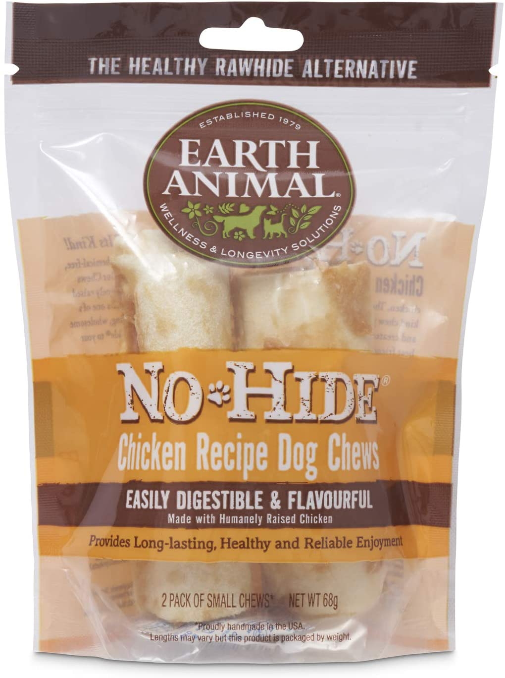 Earth Animal No-Hide Chicken Chews Large 7oz