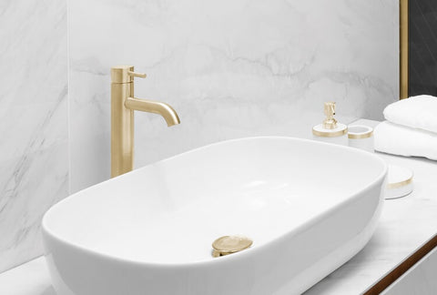 Brushed Gold Tap
