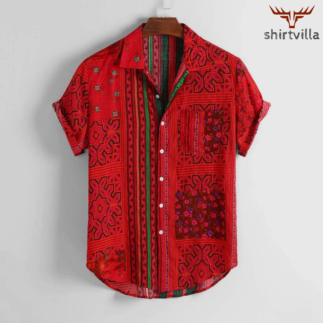 Stylish Digital Printed Street Wear Casual Shirts For Men