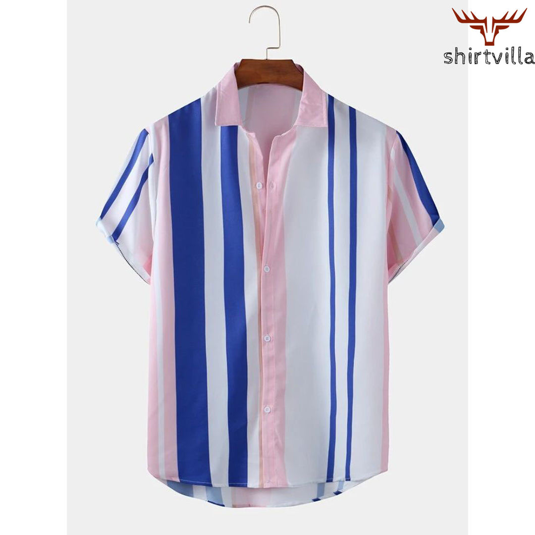 Designer Printed Casual Wear Stylish Short Sleeves Shirts For Men