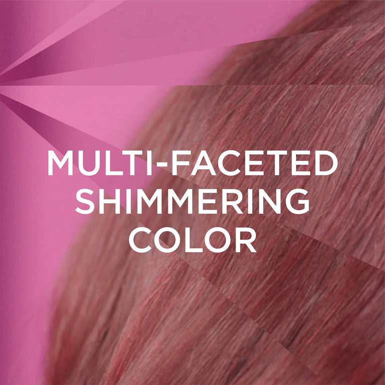 L'Oreal Paris Feria Multi-Faceted Shimmering Permanent Hair Color, R37 Blowout Burgundy (Deep Burgundy), 1 kit-CaribOnline