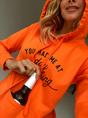 You Had Me At Day Drinking Casual Hoodie